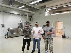 Engineer in Sweden Debugging Bugle Chips Production Line