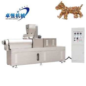 Automatic pet dog food pellet making machine line
