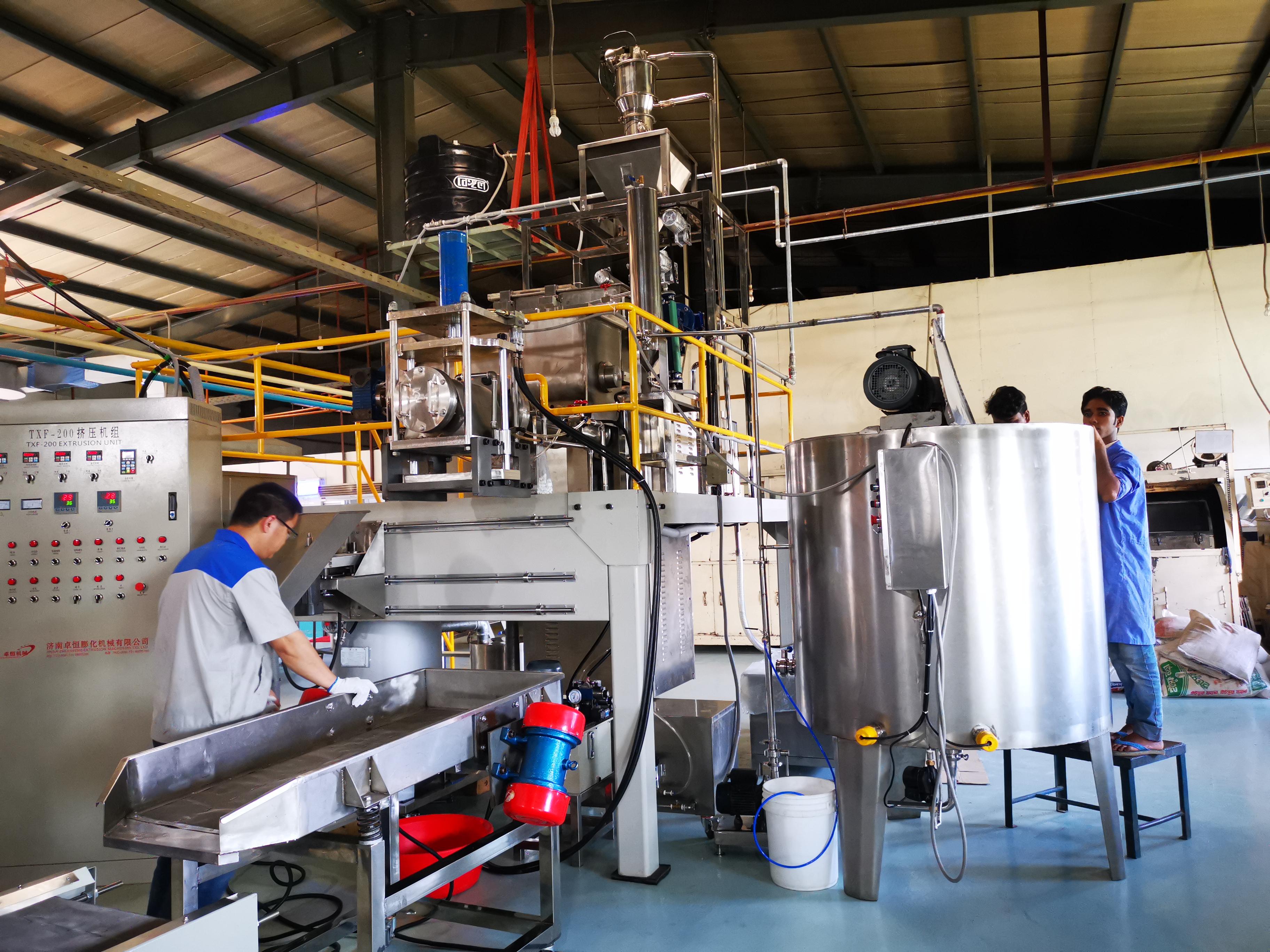 macaroni making equipment