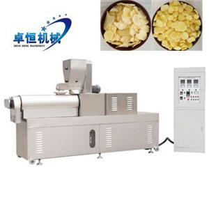 high quality corn flakes making processing machine line