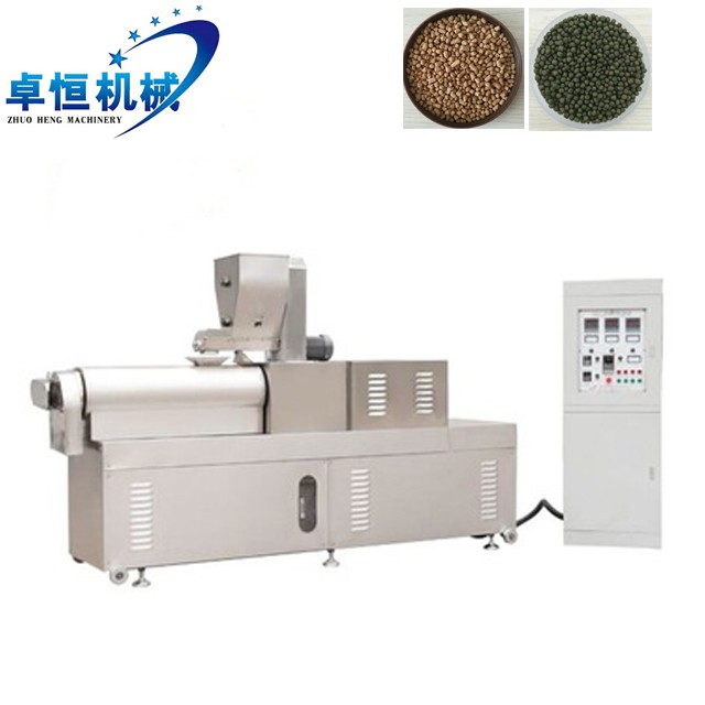 automatic floating fish feed pellet production machine line price