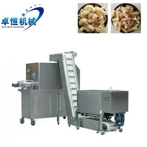 Stainless steel energy saving pasta macaroni making processing line