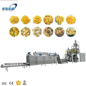 automatic pasta macaroni pasta making machinery processing line