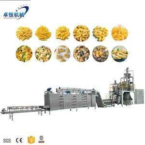 automatic pasta macaroni pasta making machinery processing line