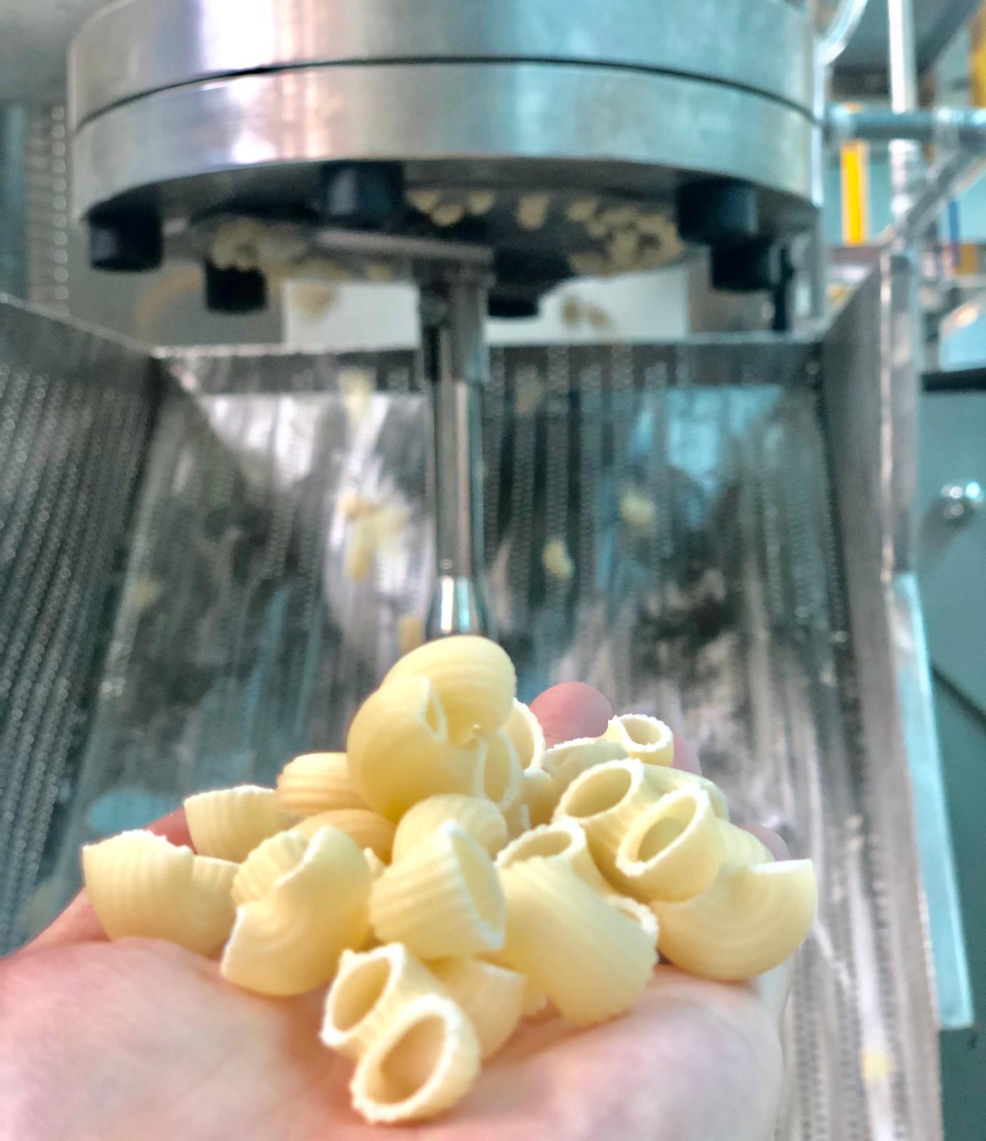 short type macaroni machine