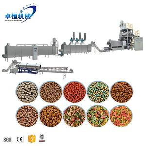 Cheap factory price pet feed animal food making extruder machine line