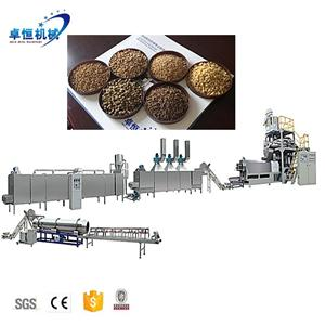 china jinan fish feed pellet extruder animal food making machine production equipment