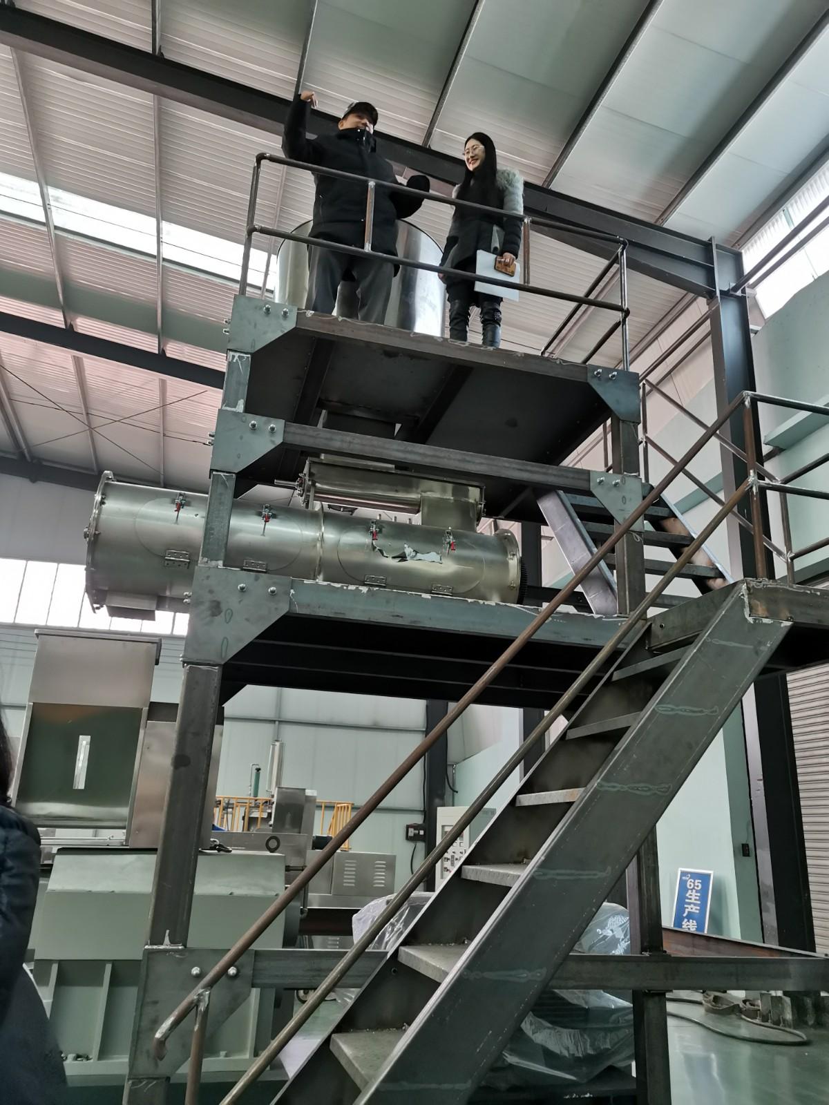 shrimp feed machine line