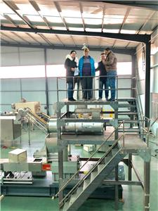 India regular custoemrs visit our factory for 1.5t modified starch at 10th Jan 2020