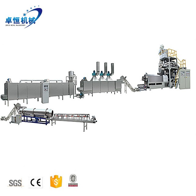 CE Top Quality China supplier floating/Sinking fish feed production line extruder machine