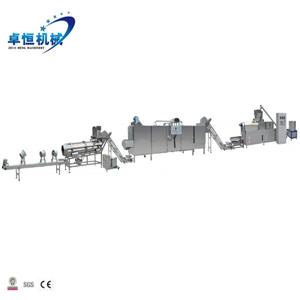 Hot popular full-automatic Puffed Snacks leisure Food Extruder Machine Processing Line