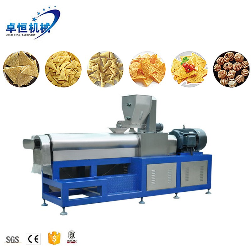 Various shape fried snack food machine