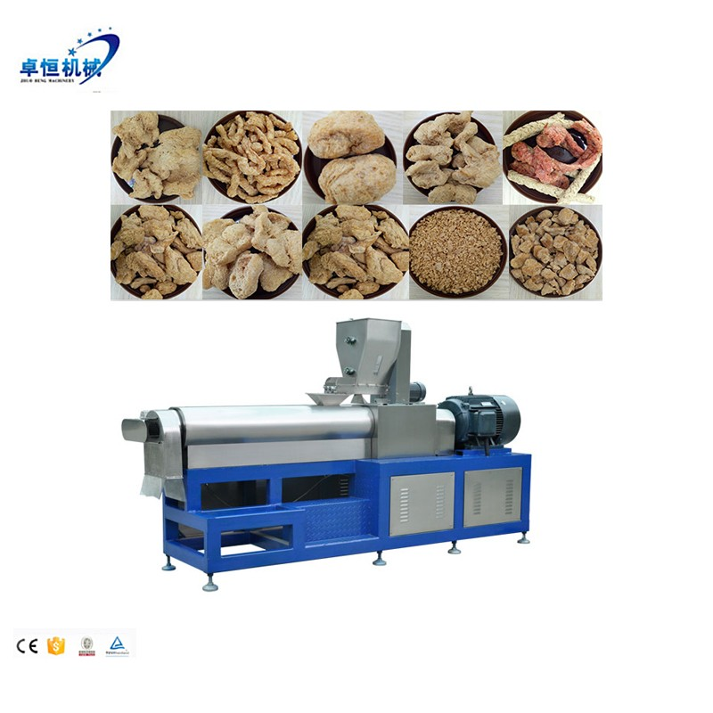 Cheap Textured/Fiber Vegetarian Soya Protein/chunks Machine