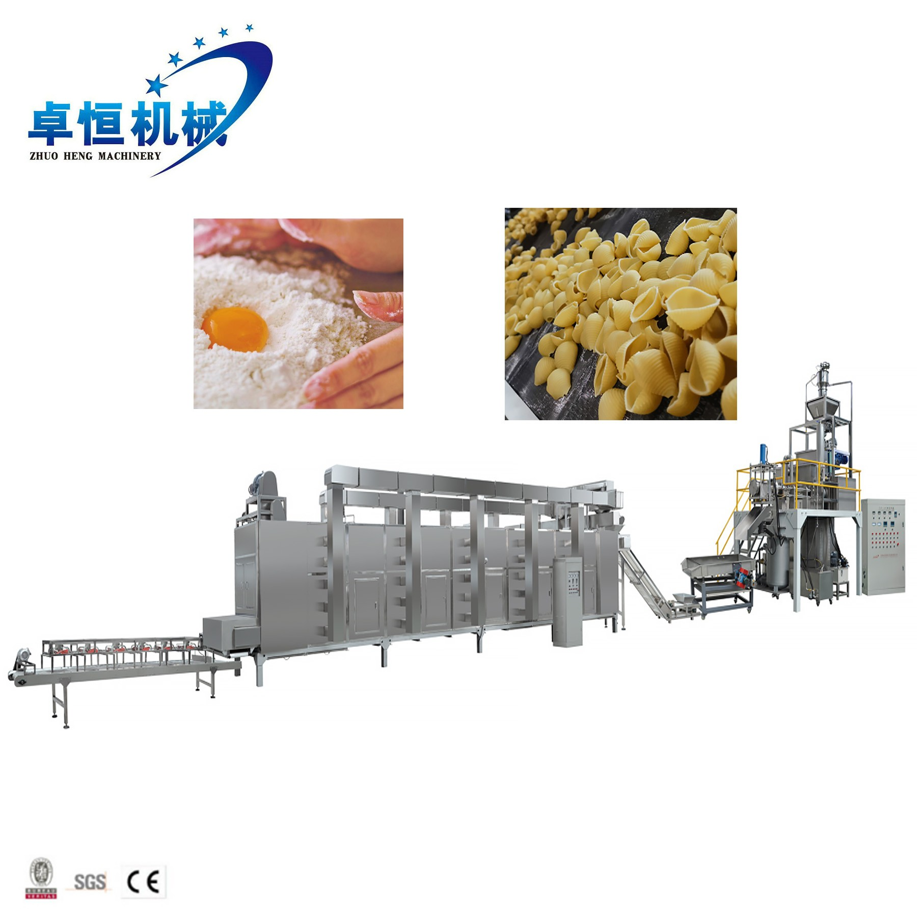 Automatic pasta macaroni making machine Manufacturers, Automatic pasta macaroni making machine Factory, Supply Automatic pasta macaroni making machine