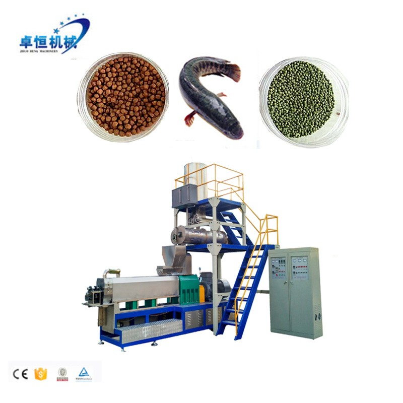 Full automatic floating/Sinking fish feed production line extruder machine