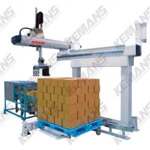 Take out Sprue Cut Pallet Changer Automation System