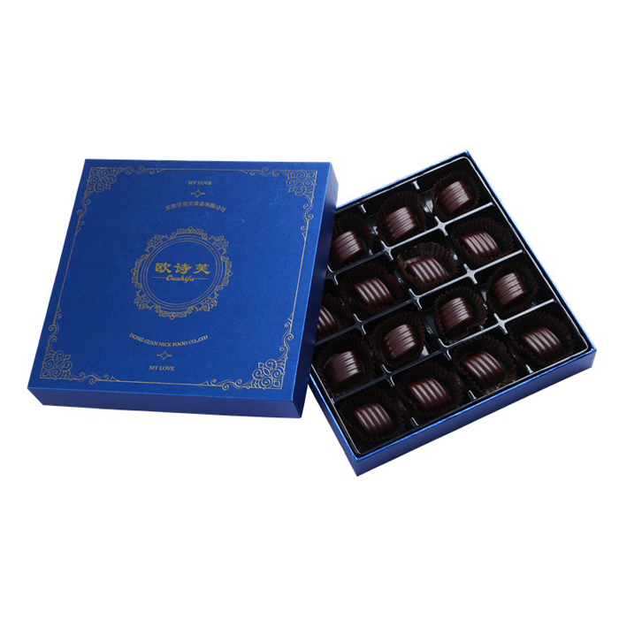 High end 108g factory price dark chocolate celebrations
