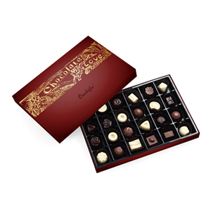 High quality chocolate mixed with nuts dry fruits 188g