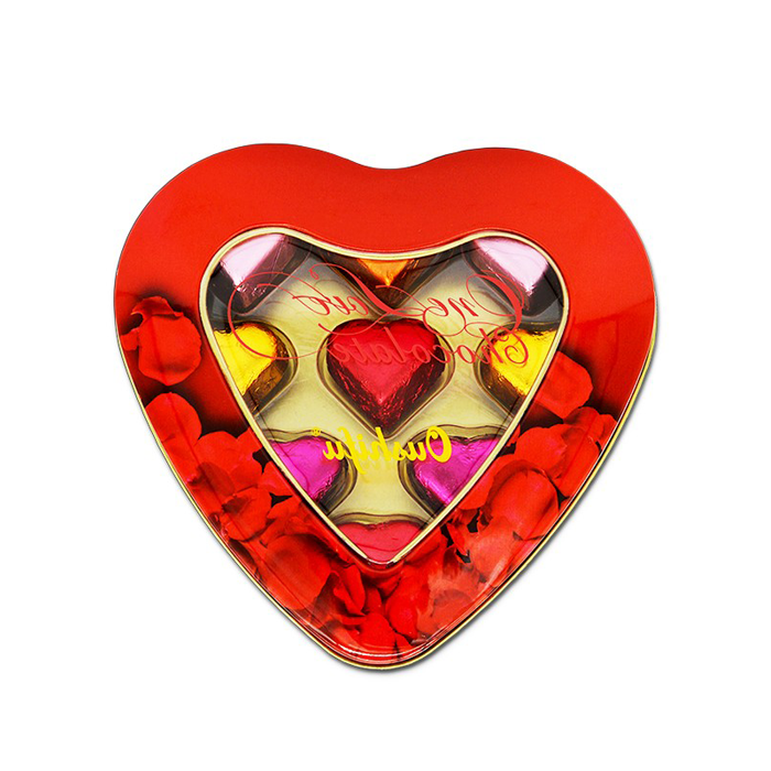 High quality Heart shape milk chocolate with tin box packaging valentine heart shape wholesale 58g Quotes,China Heart shape milk chocolate with tin box packaging valentine heart shape wholesale 58g Factory,Heart shape milk chocolate with tin box packaging valentine heart shape wholesale 58g Purchasing
