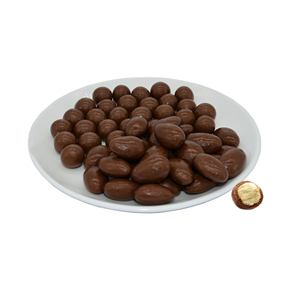 Oushifu milk chocolate with pine nuts 90g