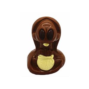 3D hollow snake milk chocolate 100g