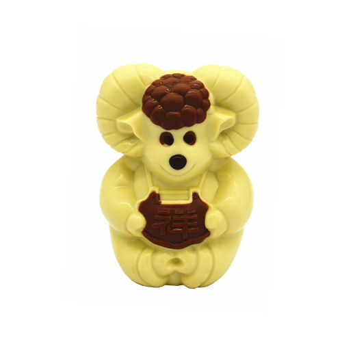 3D hollow sheep milk chocolate 100g