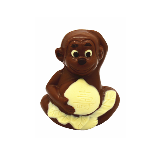 3D hollow monkey milk chocolate 100g