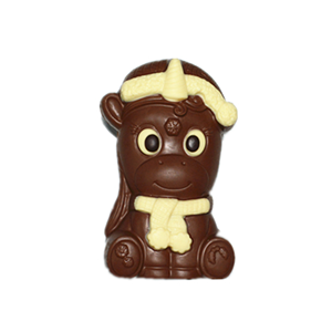Unicorn 258g 3D hollow milk chocolate