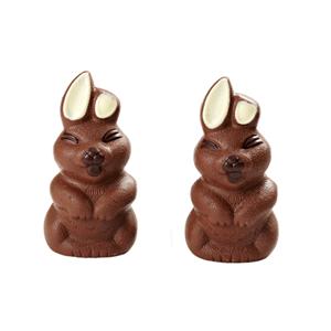 Rabbit 3D hollow milk chocolate