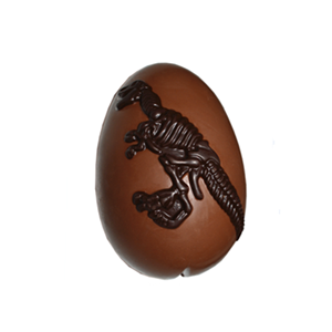 Dinosaur egg 3D hollow milk chocolate