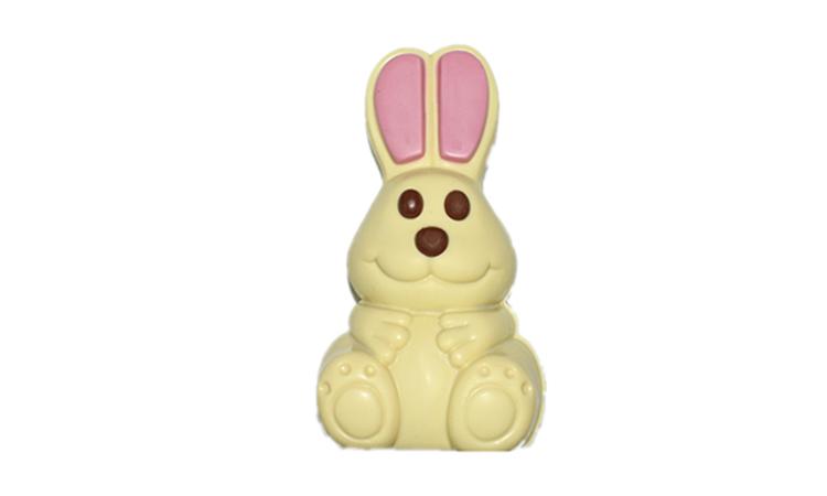 Smile little white rabbit