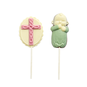 Easter's day shape lolipop milk chocolate 20g