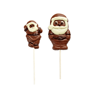 Christma's day shape lolipop milk chocolate 35g