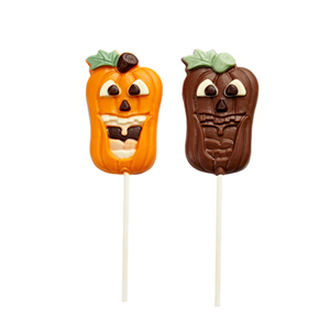 Halloween's day shape lolipop milk chocolate 35g