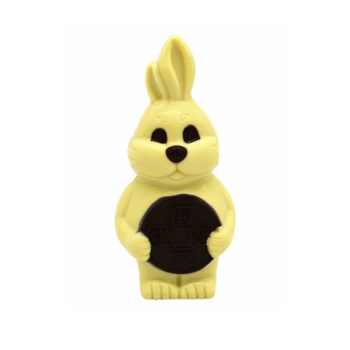3D hollow rabbit milk chocolate 100g