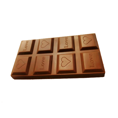 Milk chocolate sweet candy chocolate bar 40g