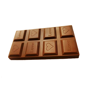 Milk chocolate sweet candy chocolate bar 40g