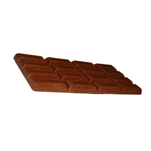 Manufacturer of plain dark chocolate little bit bitter chocolate bar 65g
