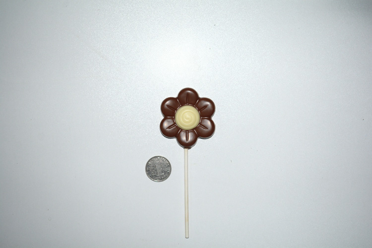 Valentine's day lollipop chocolate