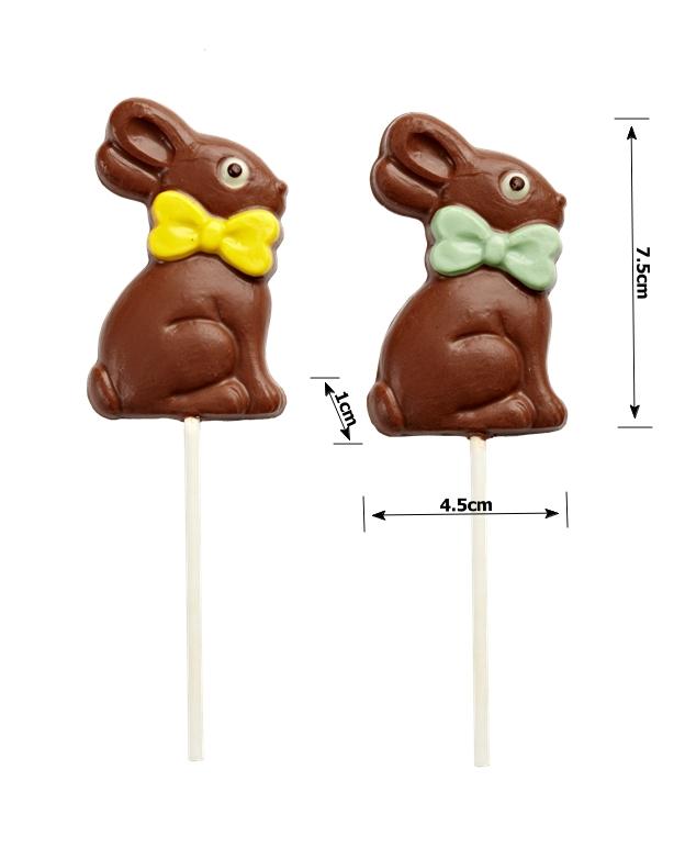 Easter lollipop chocolate