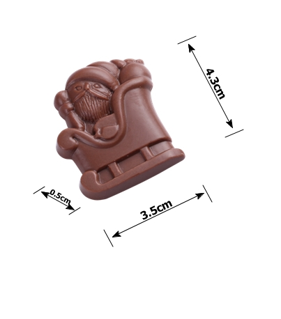 Christmas'Day shape chocolate