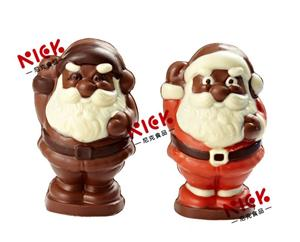 Santa claus 3D hollow milk chocolate