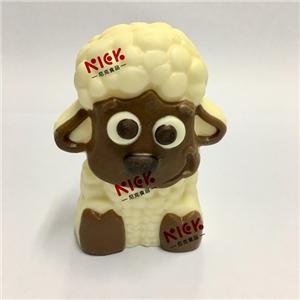 3D hollow milk chocolate--sheep