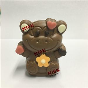 3D hollow milk chocolate--monkey