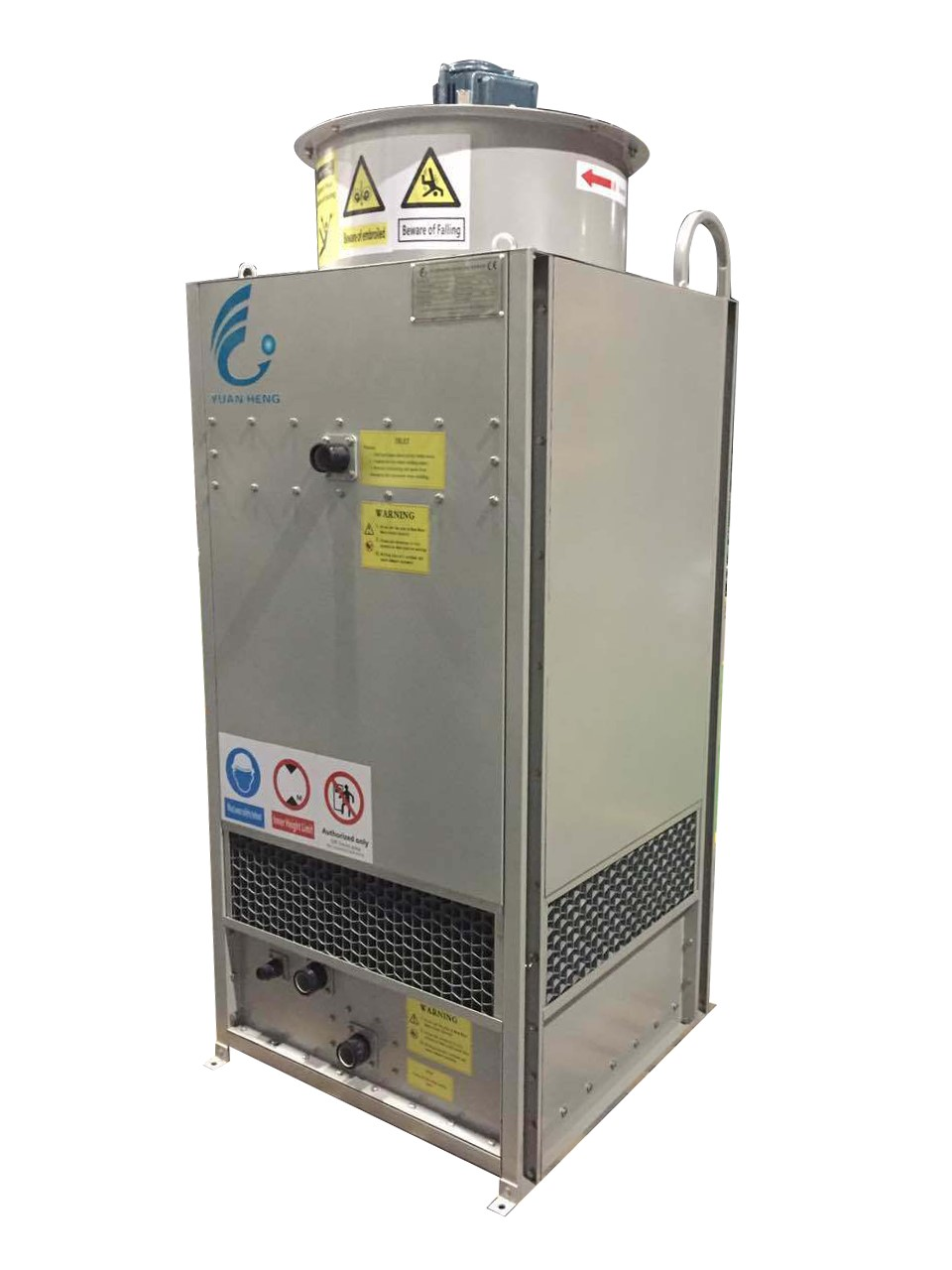 Open circuit counter flow cooling tower