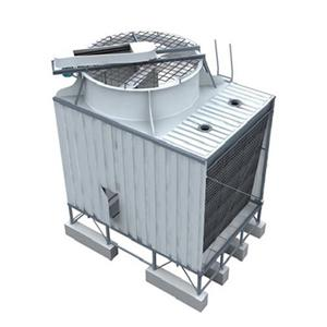 Stainless steel Single side Air Inlet Top Discharge Cross Flow Cooling Tower