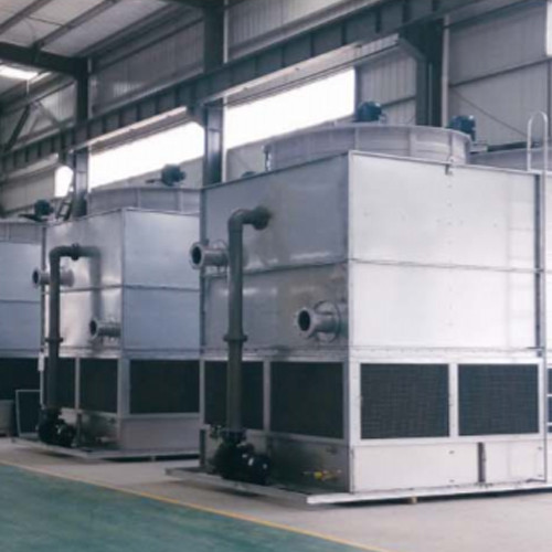 Stainless Steel Coil Without Fills Counter flow Cooling Tower