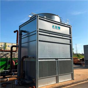 All steel Copper Coil With Fills Counter flow Cooling Tower