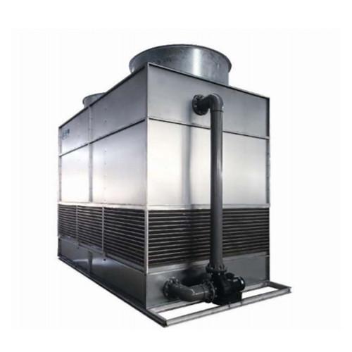 塗りつぶしのないステンレス鋼コイルクロスフロー冷却塔