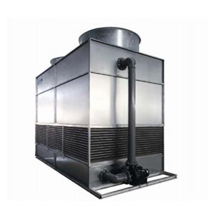All steel Copper Coil Without Fills Counter flow Cooling Tower